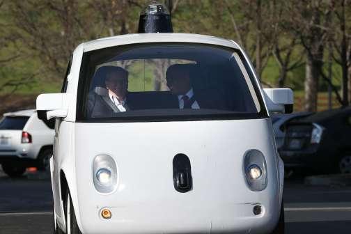 Google Blames Humans for Self-Driving Car Crash — Again