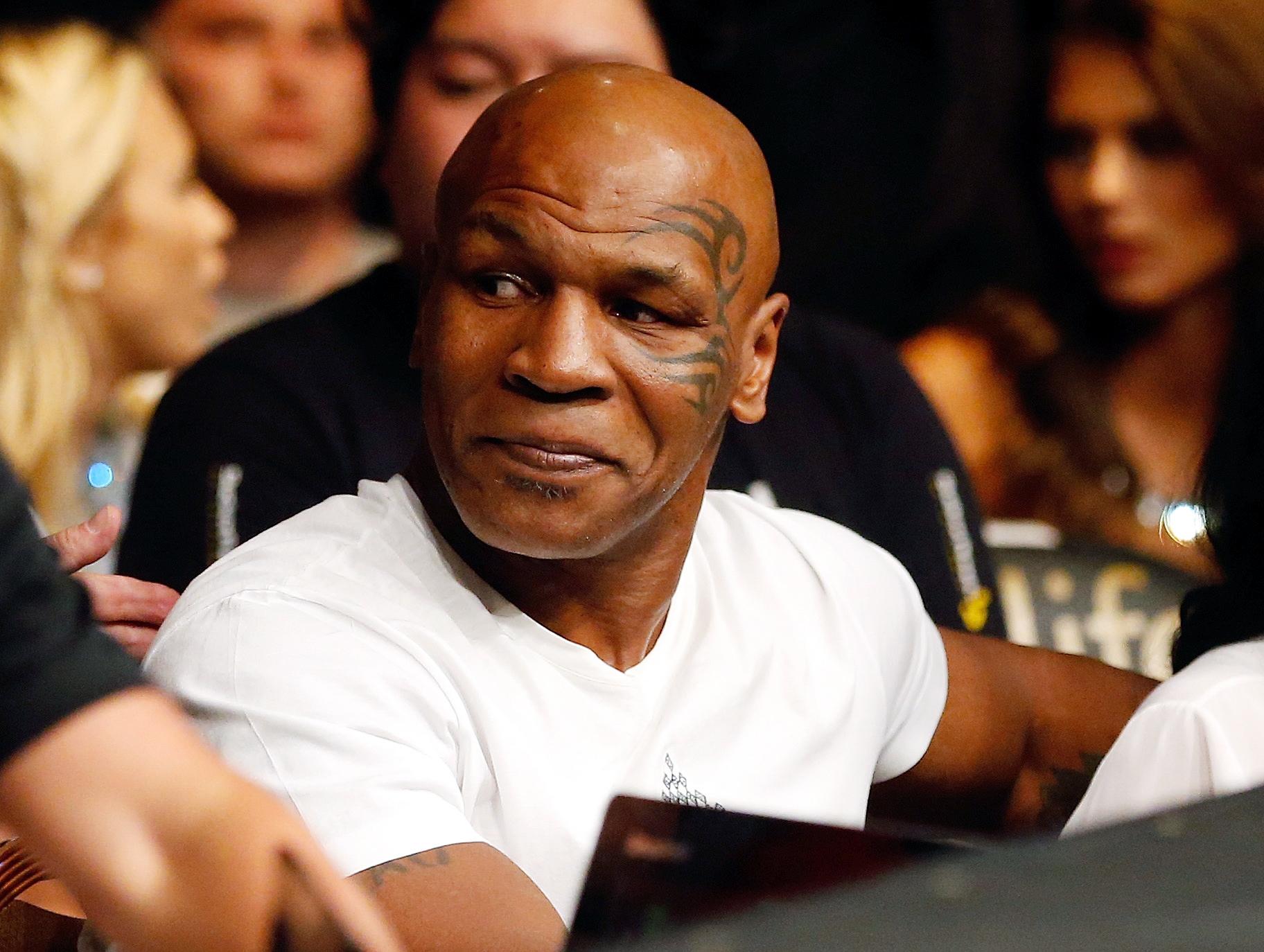Mike Tyson TrumpMike Tyson