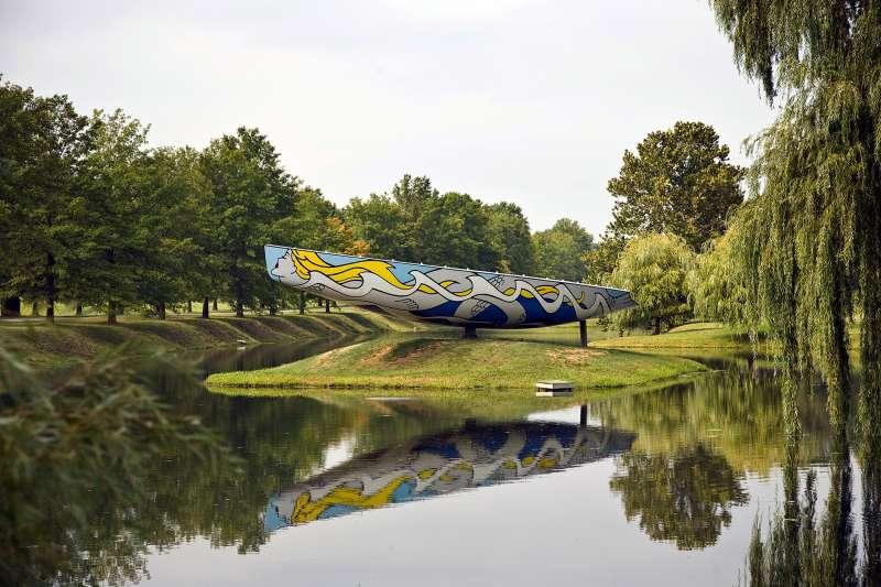 Roy Lichtenstein America's Cup Boat At Storm King Art Center, New York