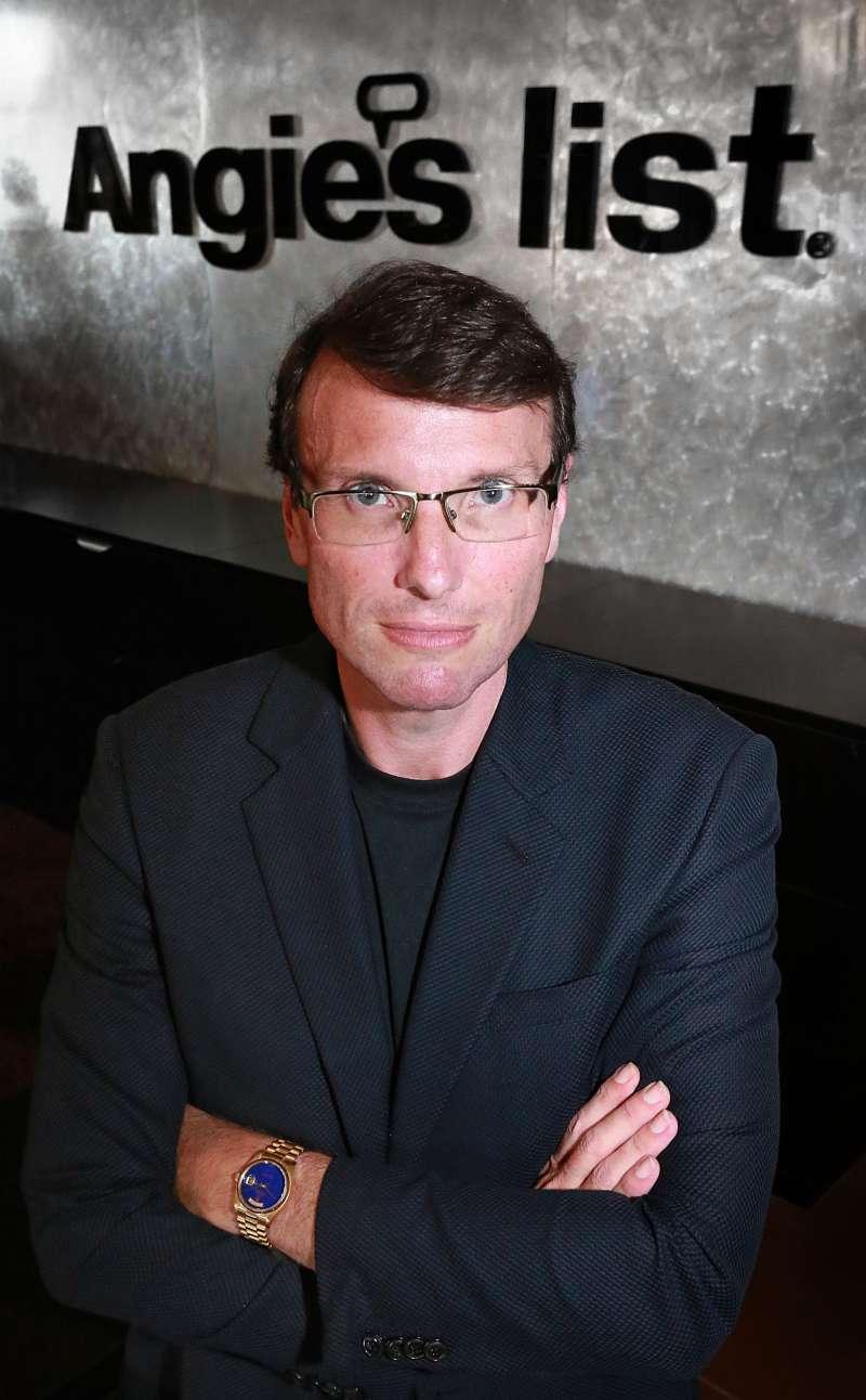 Scott Durchslag, new CEO at Angie's List, September 7, 2015.