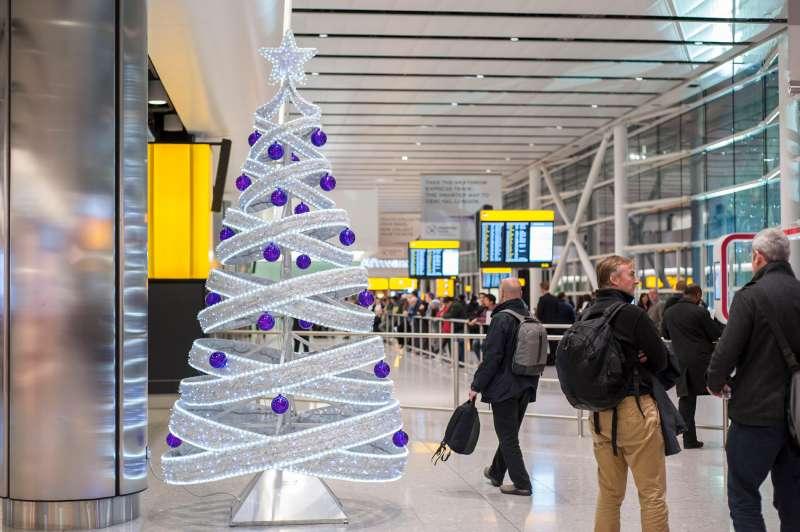 Terminal 2, Heathrow airport, London