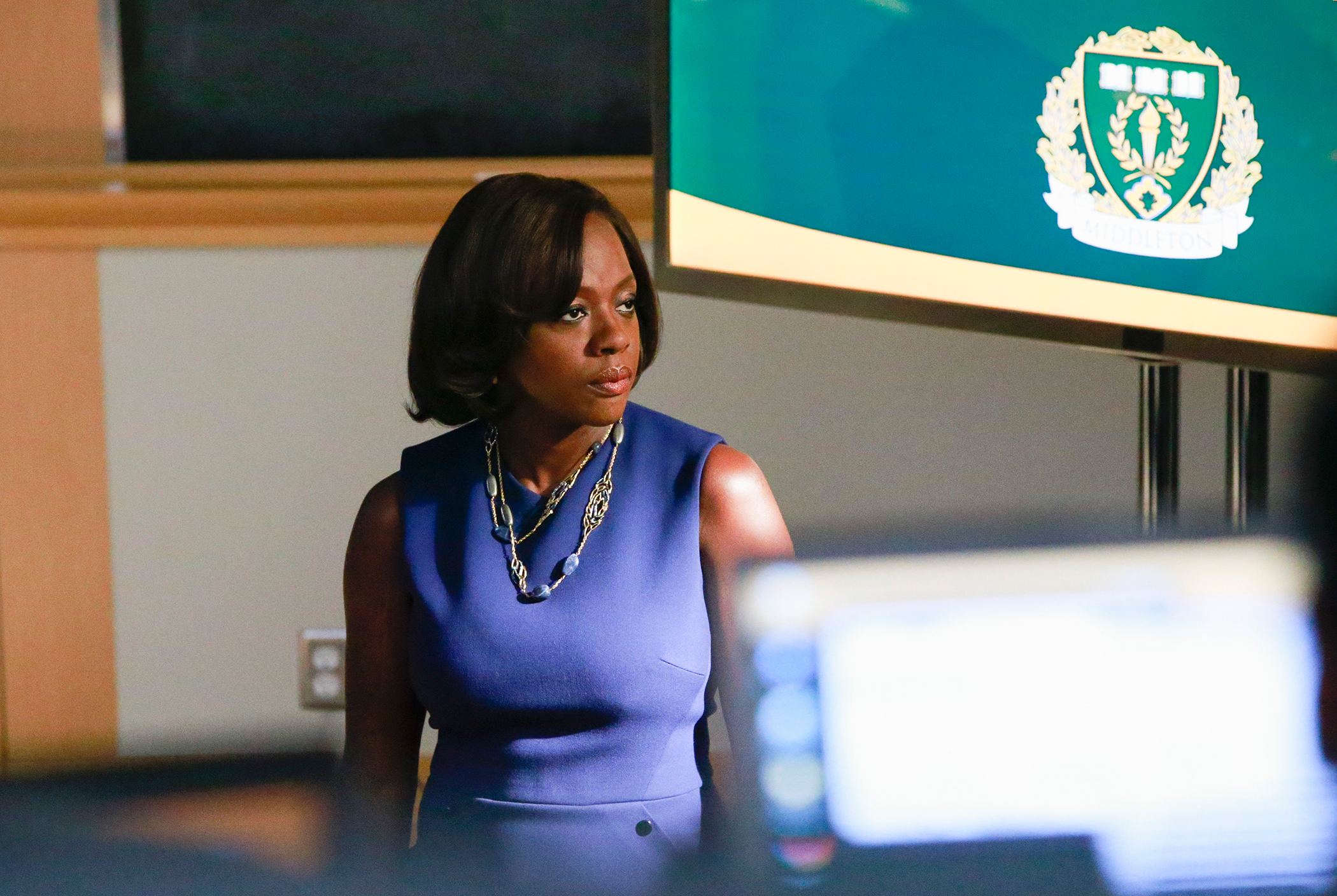 """Viola Davis as Annalise Keating in """"How To Get Away With Murder"""" on ABC"""