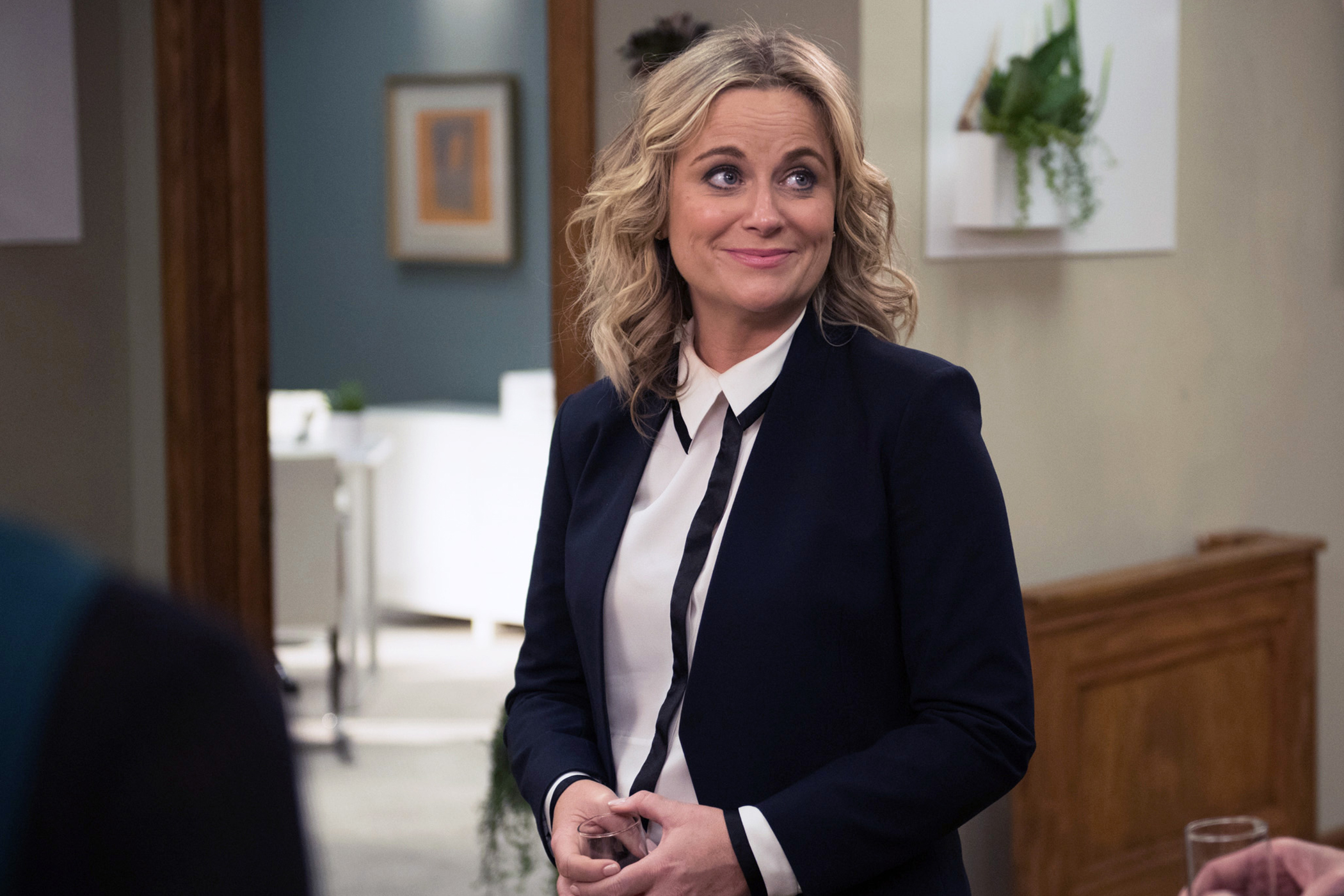 Amy Poehler as Leslie Knope in  Parks and Recreation  on NBC