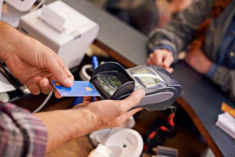 EMV chip and pin credit card reader