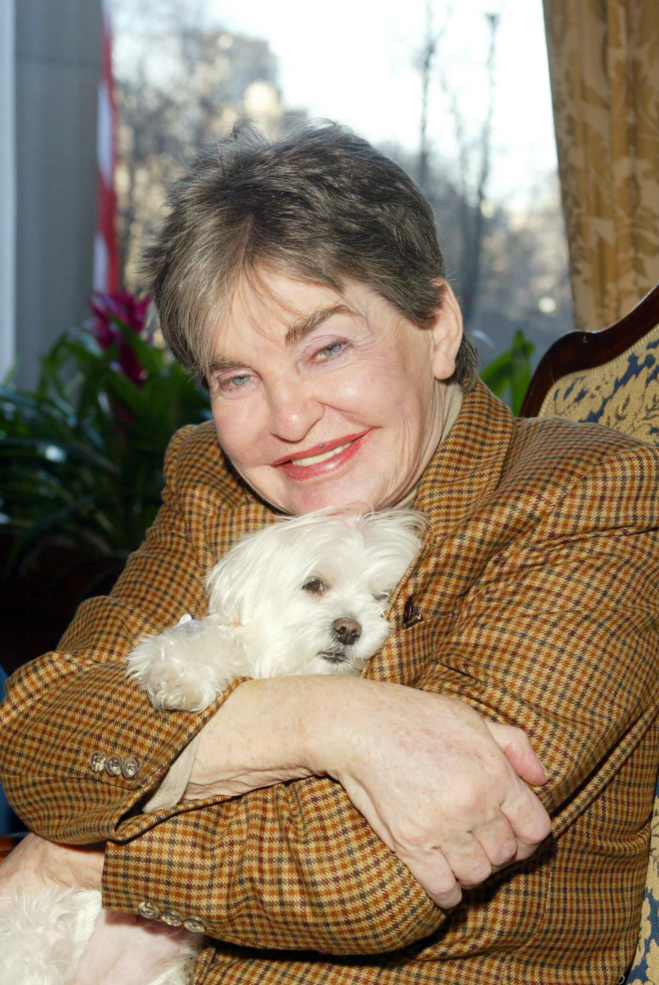 Leona Helmsleys $12 million dog, Trouble, July 16, 2008.