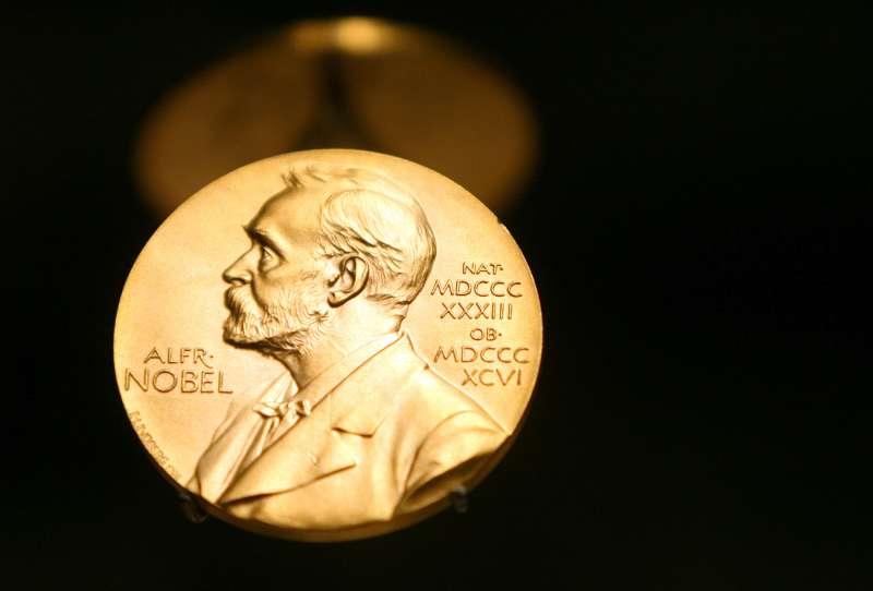 A Nobel Prize Medal in Stockholm, Sweden, December 8, 2007.
