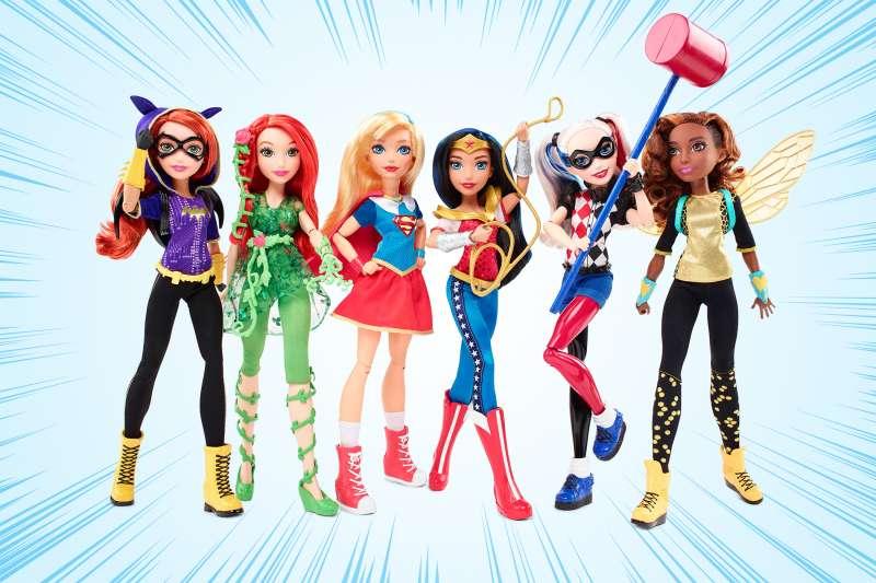 SuperHero girls action figures