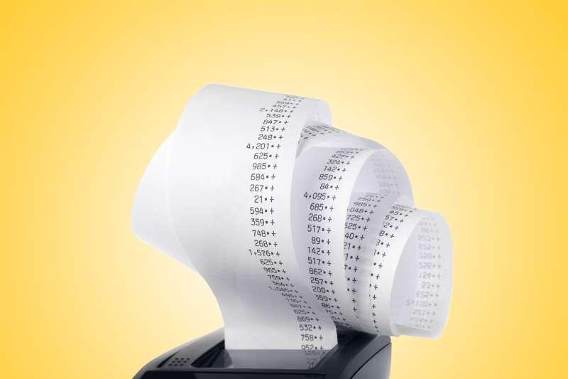 receipt tape