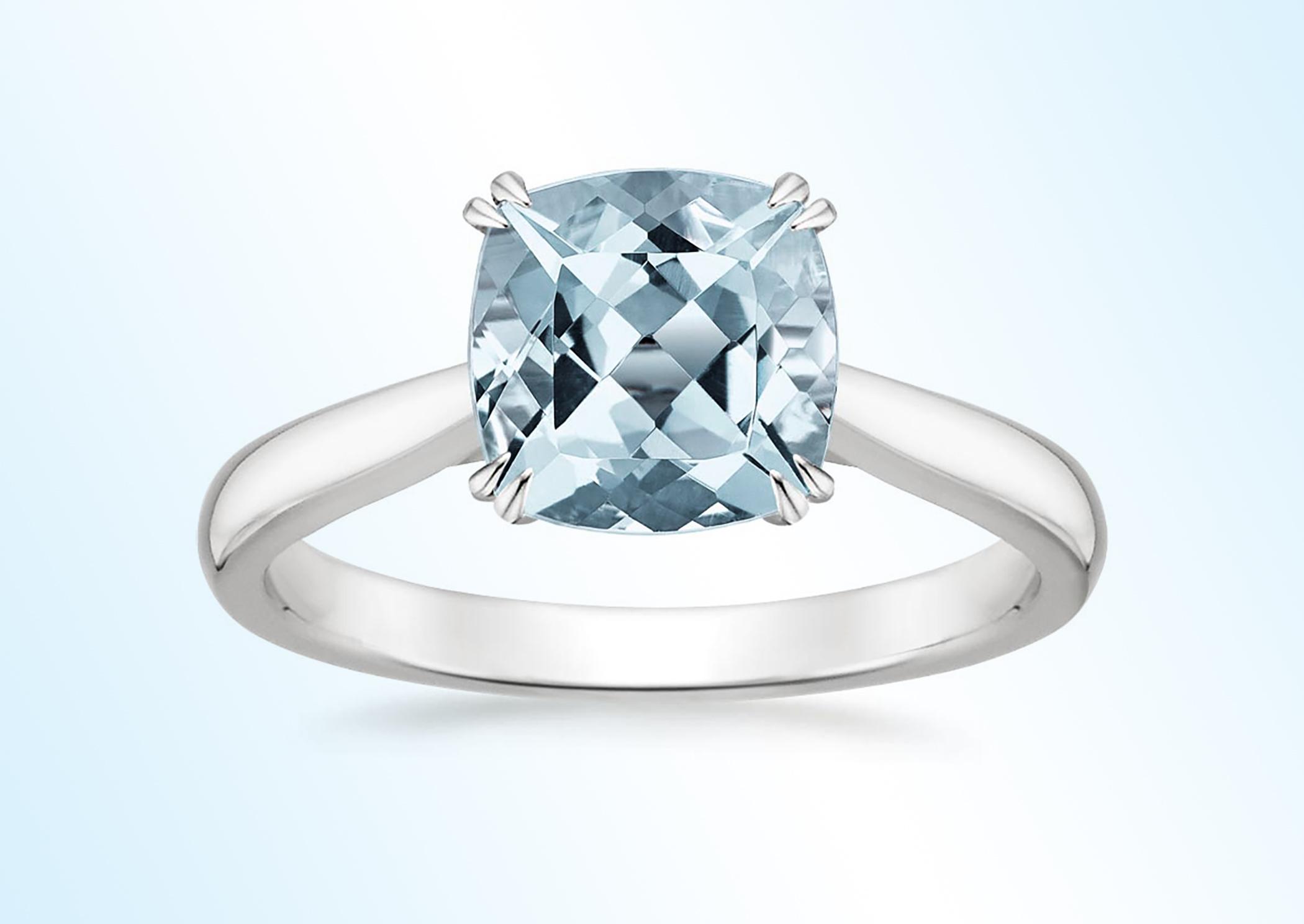 Aquamarine Audrey Ring from Brilliant Earth