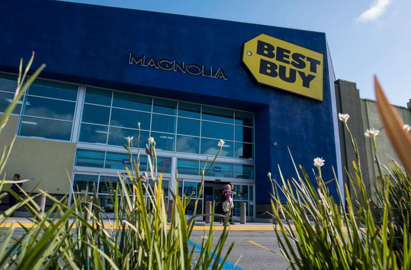 Best Buy store in San Francisco on May 15, 2015