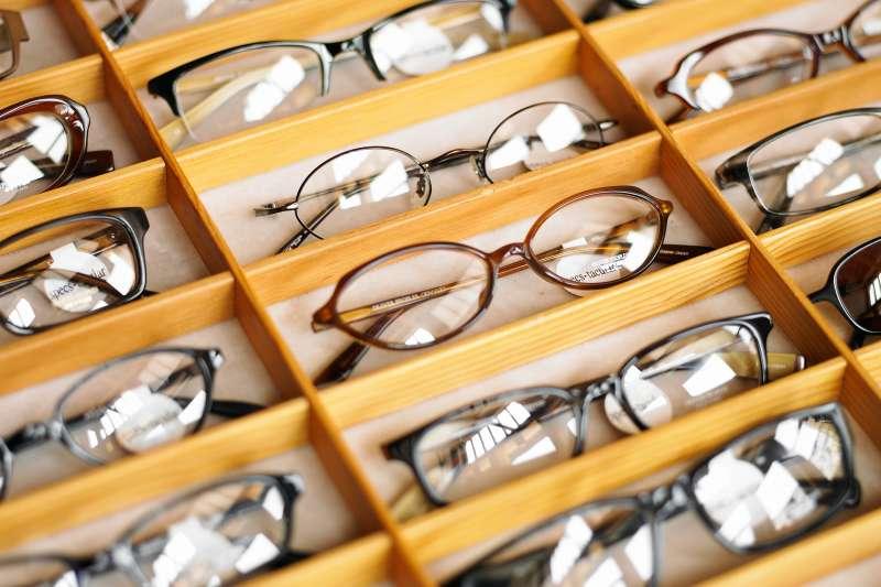 case of glasses