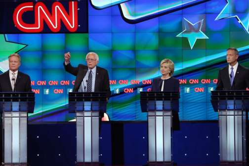 Big Banks Bashed at Democratic Debate
