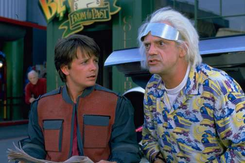 Pepsi, Nike, and DeLorean All Went Back to the Future