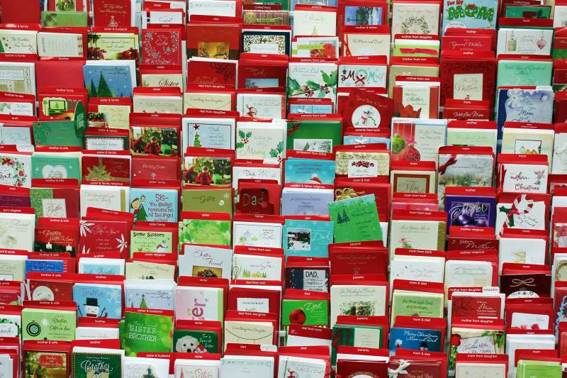 Christmas Cards in store