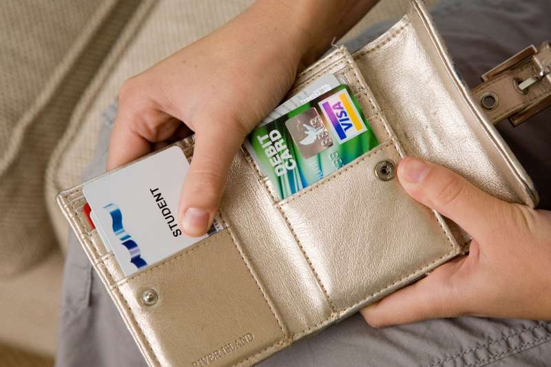 wallet credit card student ID