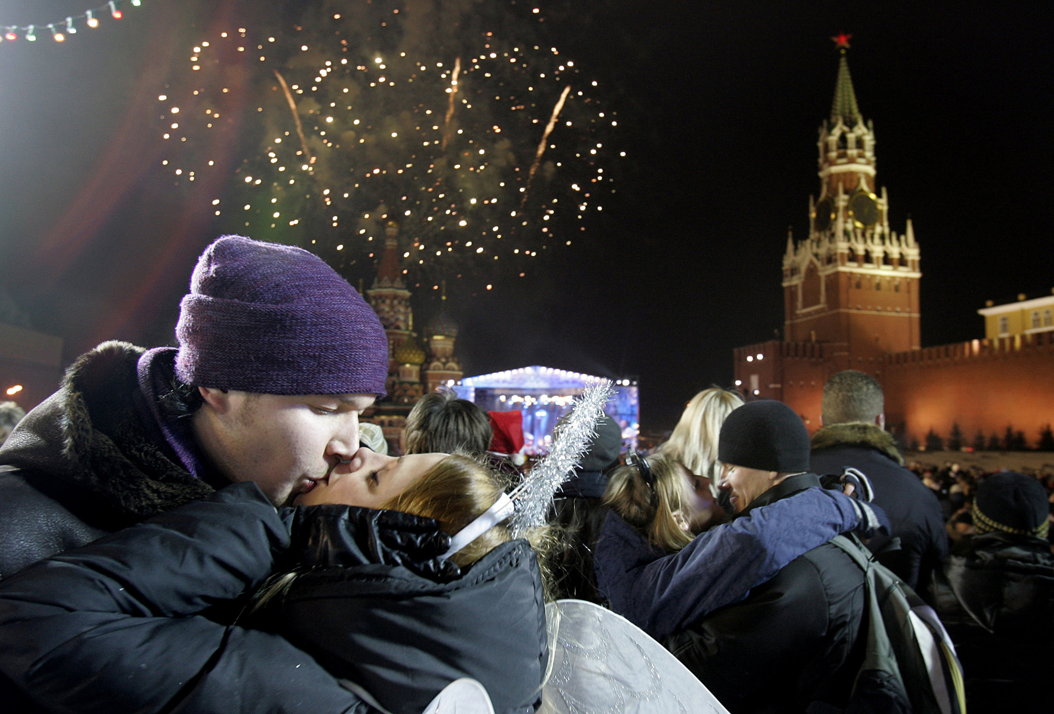 New Year's Eve in Moscow