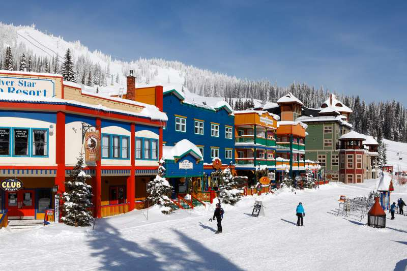 Family-friendly Silverstar Mountain Resort