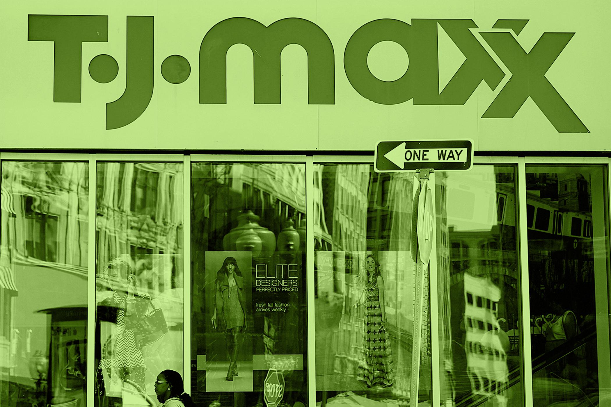 T.J. Maxx in Boston's Downtown Crossing, September 11, 2013.