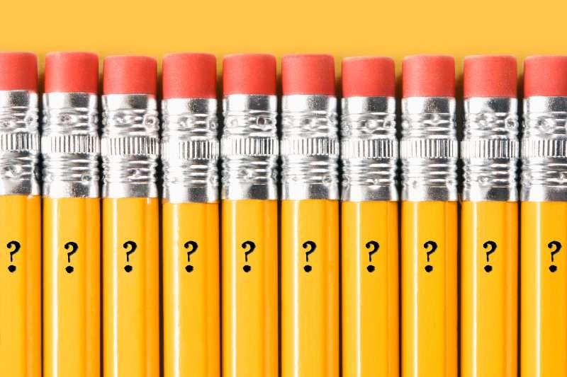 ? marks on Ticonderoga pencils