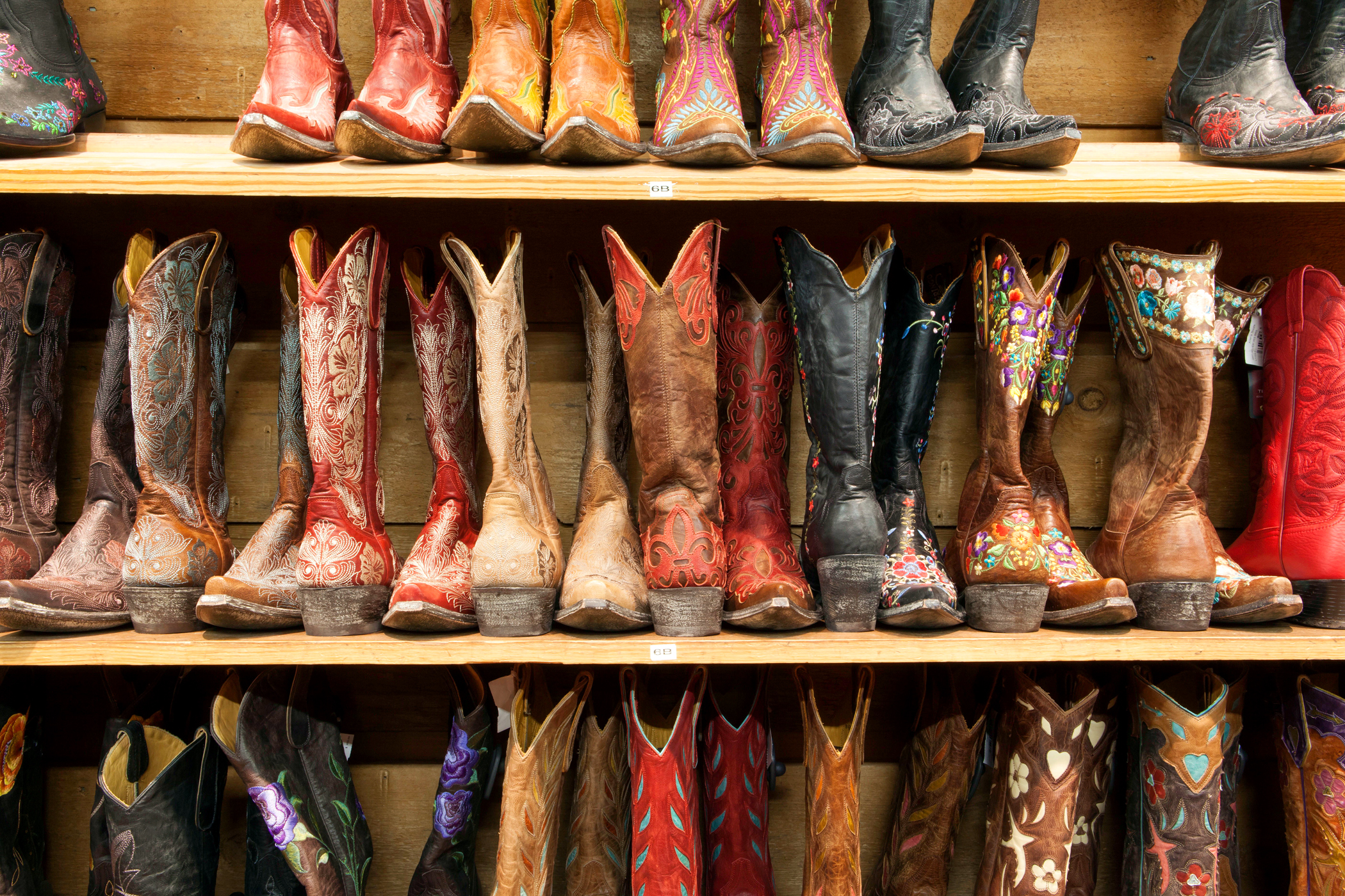 In Austin boots are a staple.