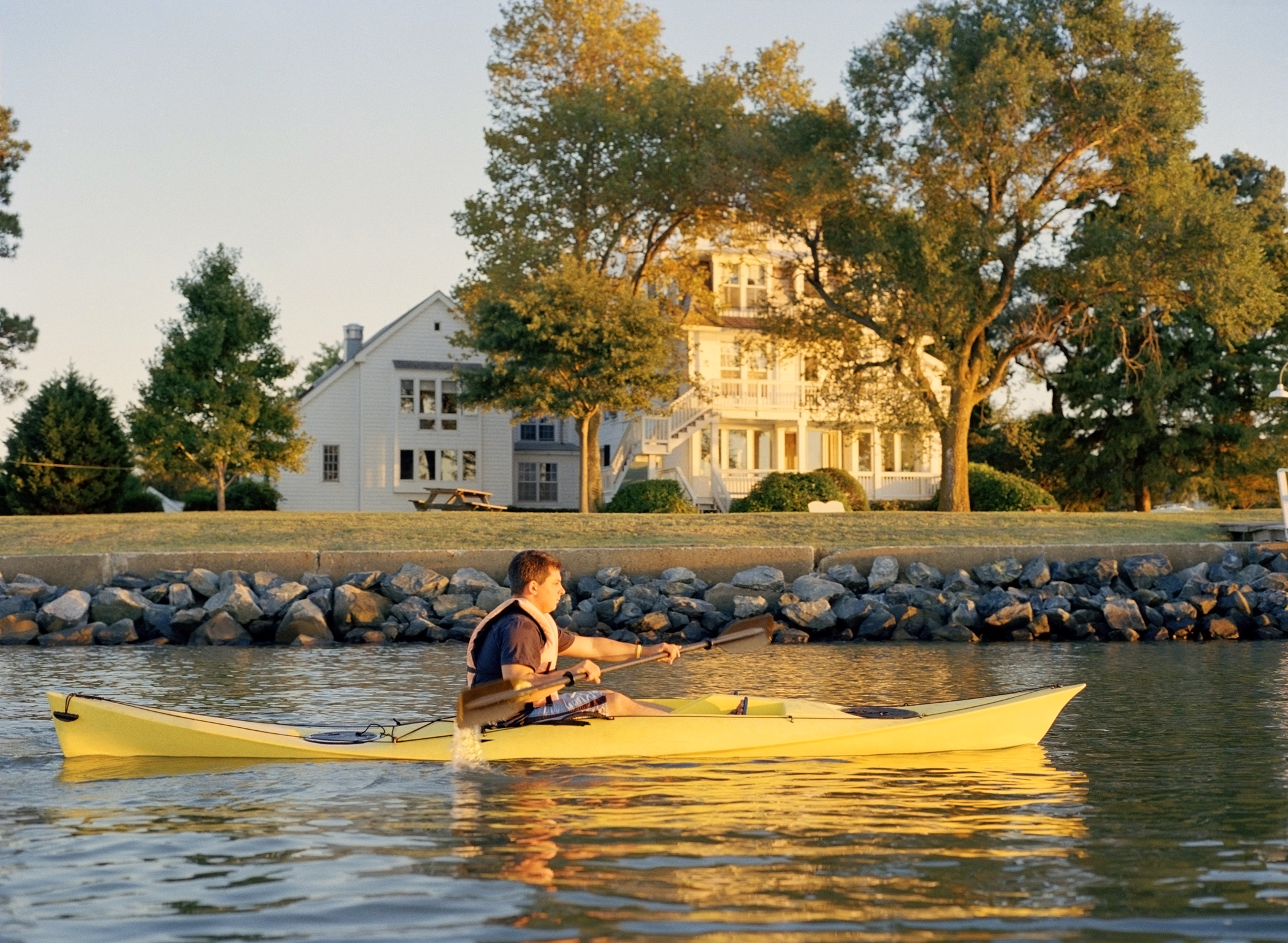 Kayaking on the St. Michaels' water trail