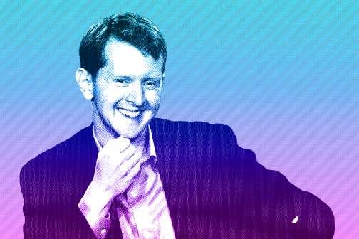"""Ken Jennings Looks for """"Lucky"""" Pennies on the Sidewalk"""