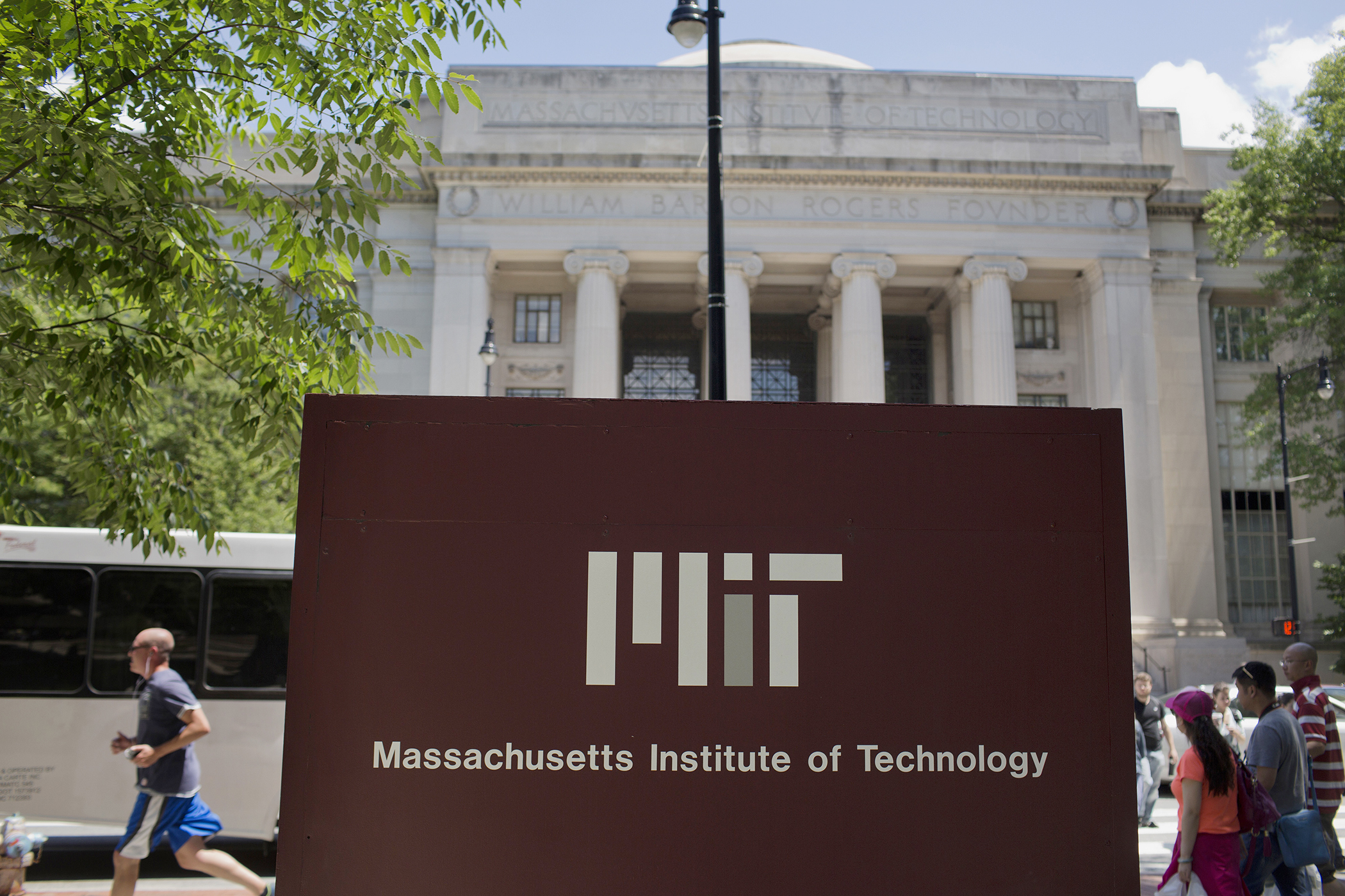 Massachusetts Institute of Technology (MIT) campus in Cambridge,