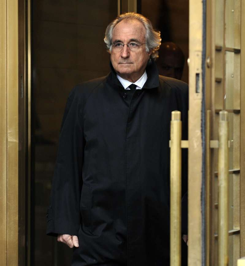 Bernard L. Madoff leaves US Federal Cour