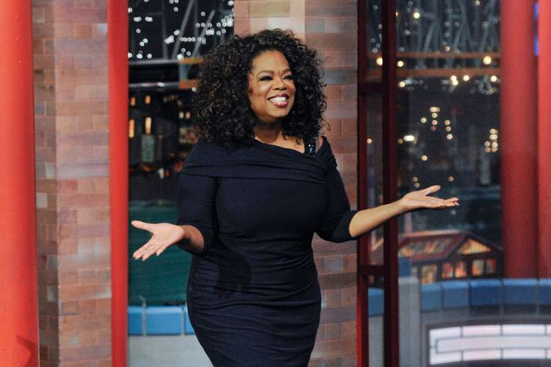 Talk show legend Oprah Winfrey makes her final appearance on the Late Show with David Letterman, Friday May 15, 2015 on the CBS Television Network.