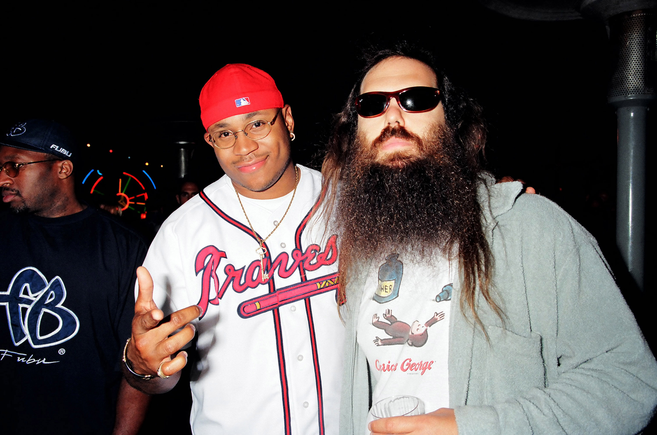 LL Cool J and Rick Rubin during MTV Life Beat in Los Angeles, September 7, 1997.