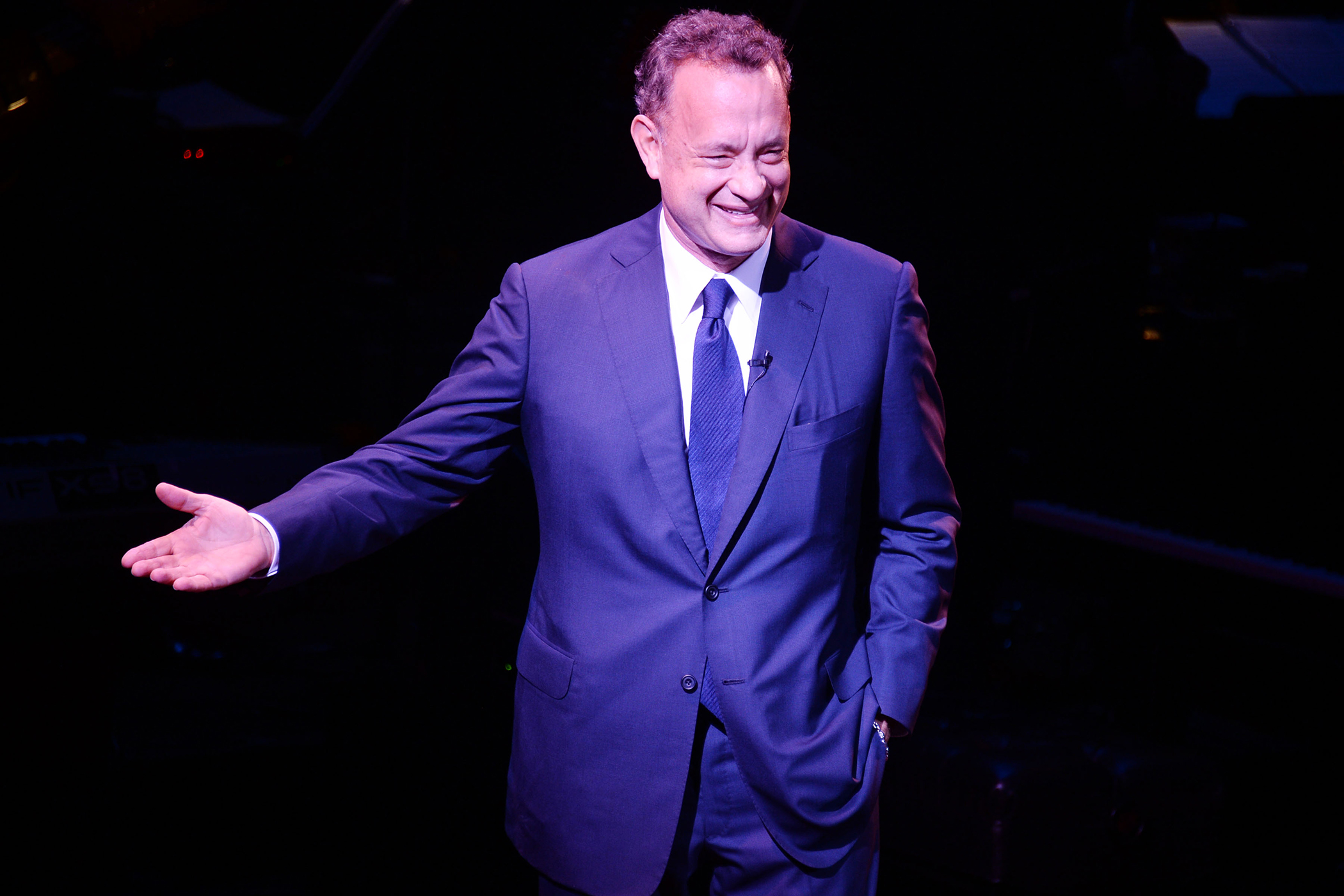 Tom Hanks at SeriousFun Children's Network Celebrates The Legacy Of Paul Newman Held At Avery Fisher Hall, New York City, March 2, 2015.