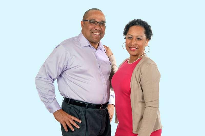 Phillip and Tanja Thompson of Leesburg, Virginia