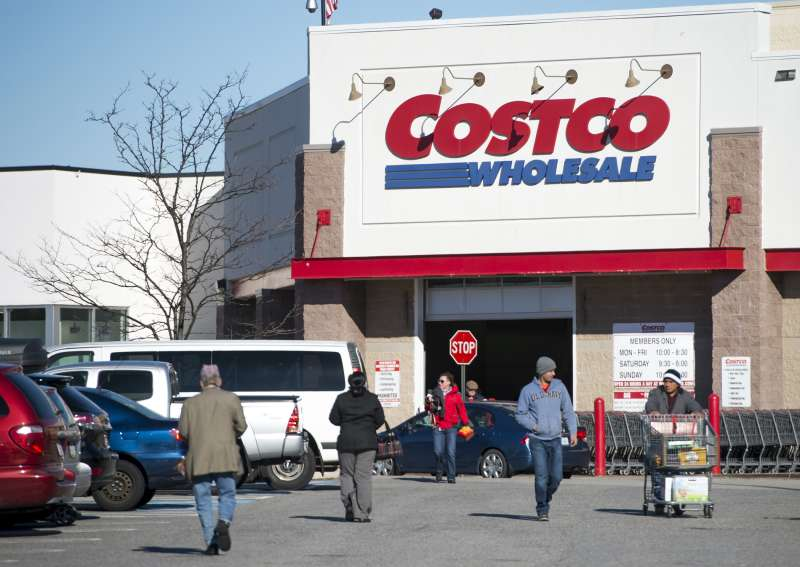 A Costco Wholesale warehouse location in Woodbridge, Virginia, January 5, 2016.
