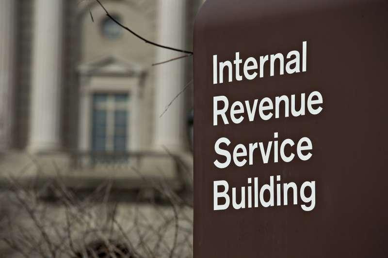 IRS headquarters building in Washington, D.C., on Feb. 17, 2016.