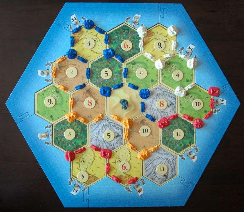 jubilee edition of the board game  Siedler von Catan  (settler of Catan)