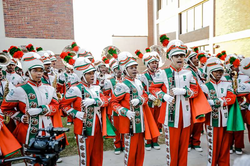 Florida A&M marching band