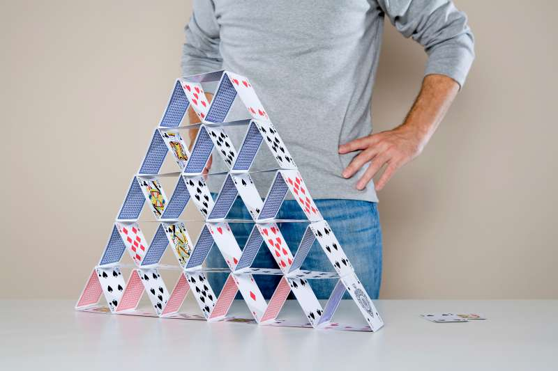 person who built card house