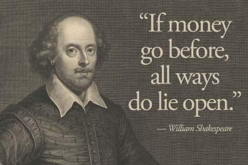 11 Essential Shakespeare Quotes About Money