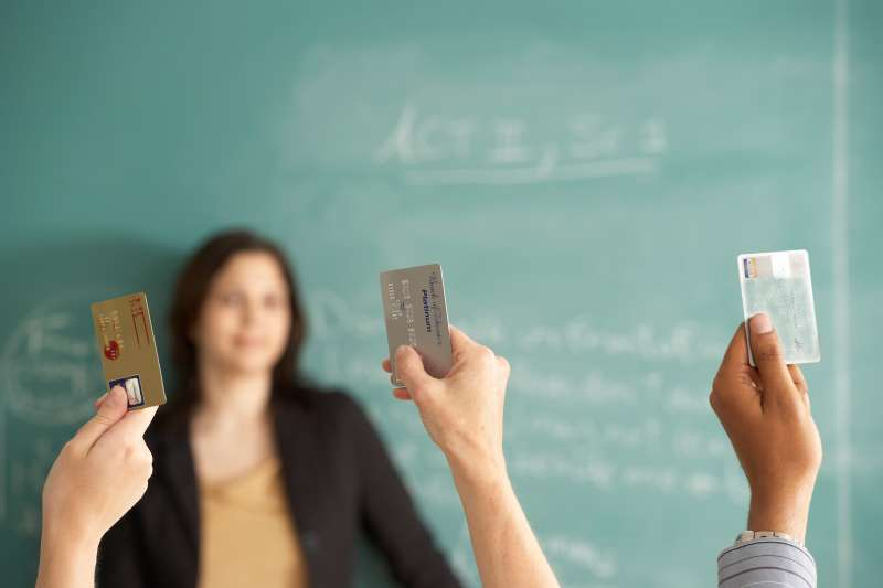 Credit cards college