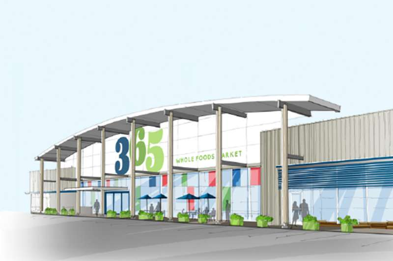 Rendering of 365 by Whole Foods Market, Silver Lake, California, Opening May 25, 2016