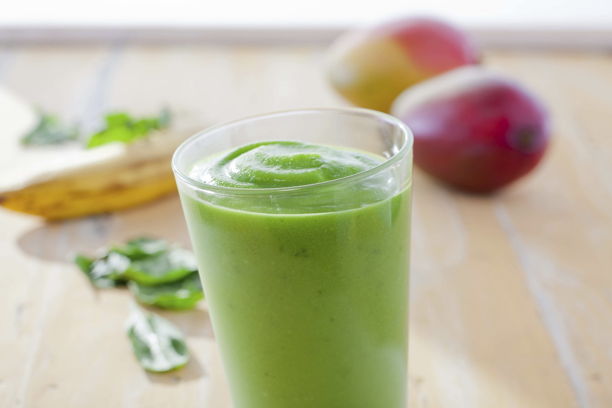 Tropical Smoothie Cafe's Classic Smoothie, Island Green.