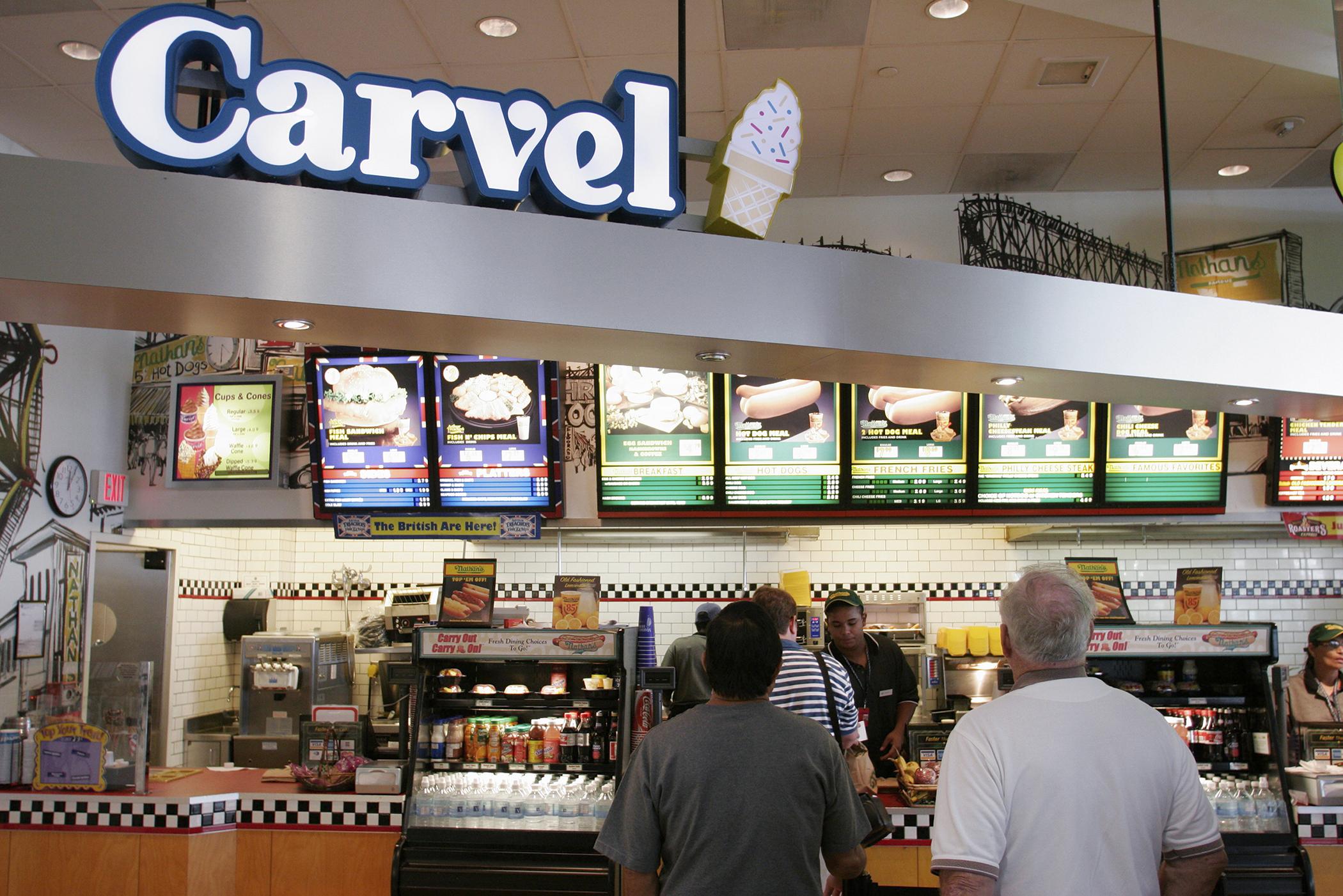 Carvel Ice Cream, Orlando Florida Airport