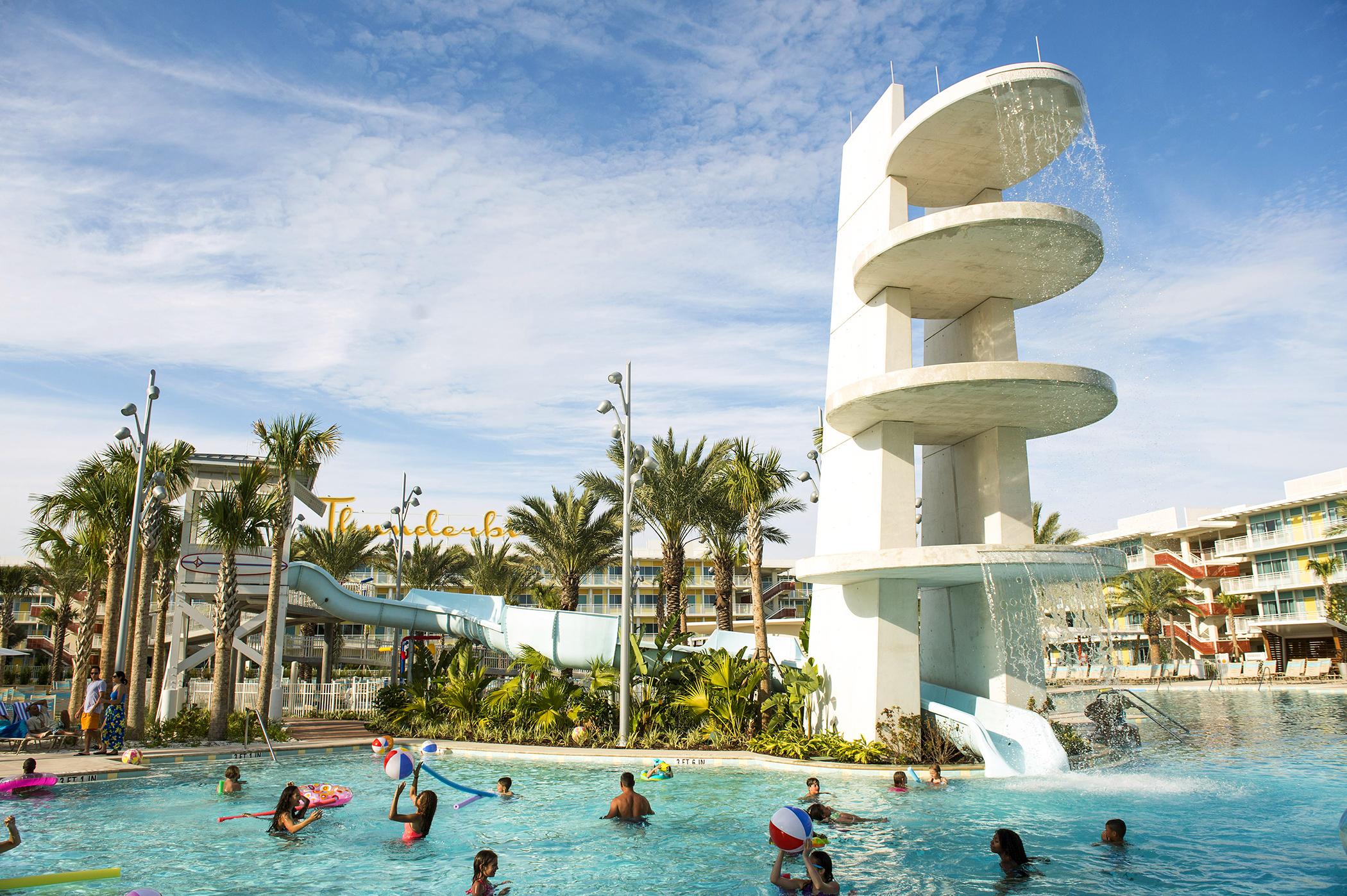 Universal Orlando's fourth on-site hotel, Universal's Cabana Bay Beach Resort