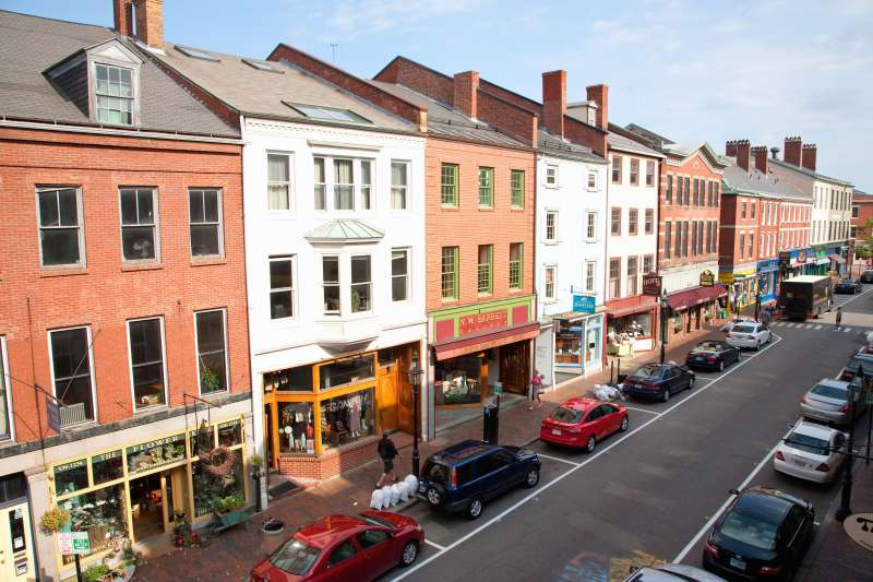 Market Street, Portsmouth, New Hampshire, Main Street USA