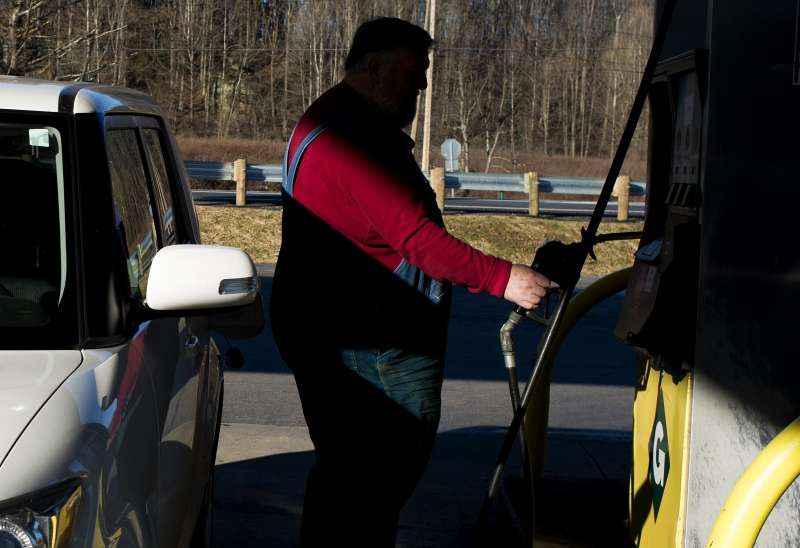 Views Of A Go Mart Inc. Fueling Station As U.S. Drivers Can See $1.50 Gasoline For First Time Since 2009