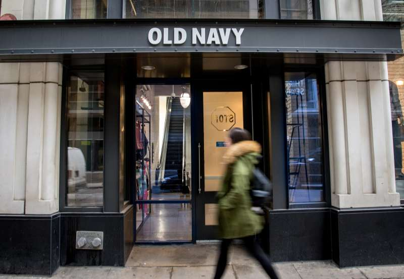 The Gap, Banana Republic, And Old Navy Stores Ahead Of Gap Inc. Earning Figures