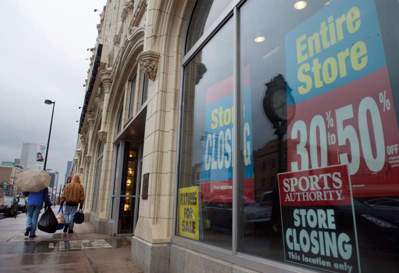 Sport Authority will go to auction.