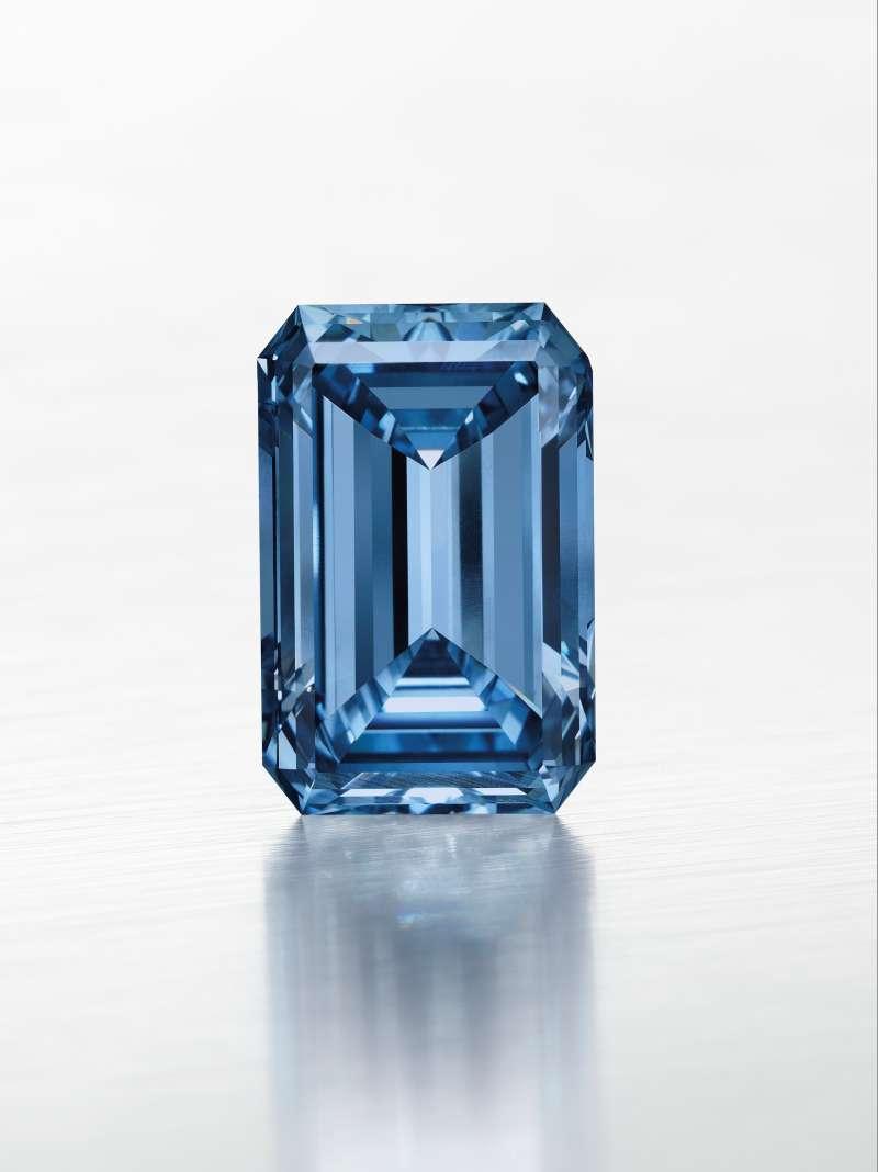 Blue diamond sold for $57.5 million