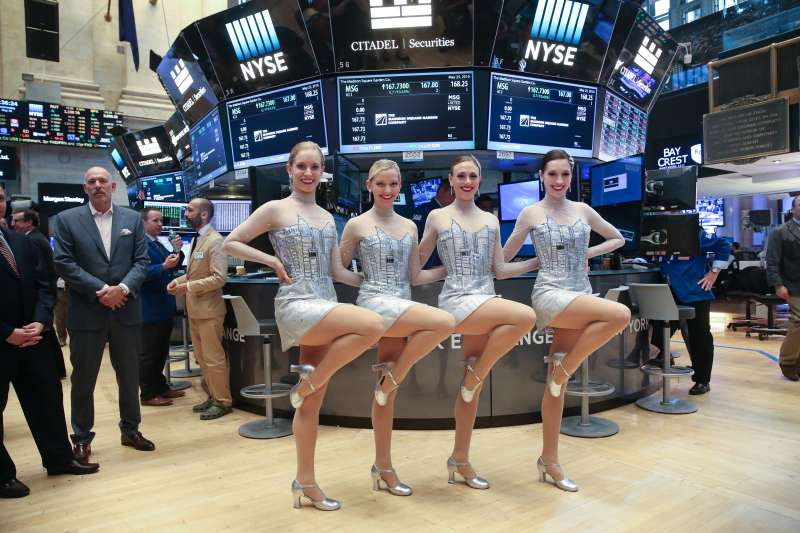 The Radio City Rockettes Ring NYSE Opening Bell To Mark Return Of The  New York Spring Spectacular