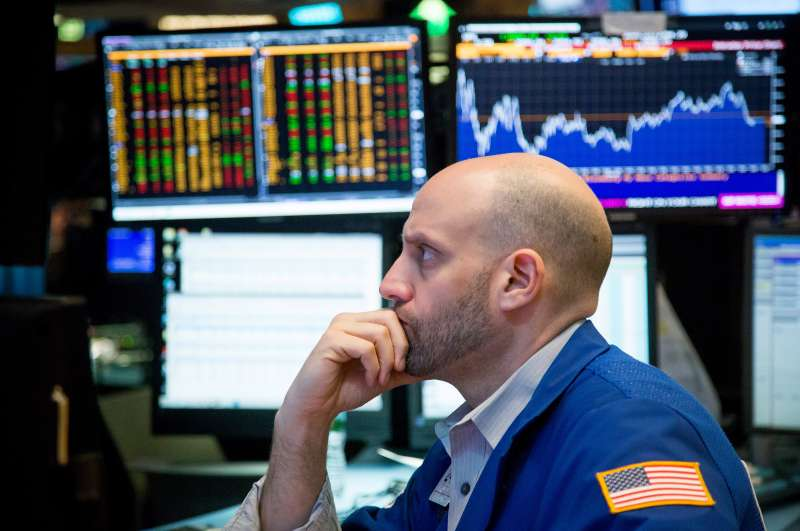 Trading On The Floor Of The NYSE As U.S. Stocks Edge Higher Before Remarks From Yellen, Long Weekend
